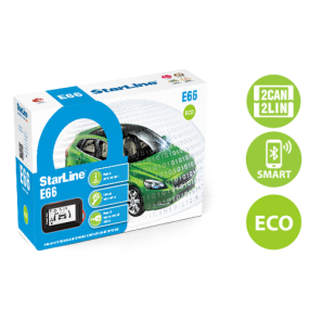 StarLine E66 BT eco 2can+4lin