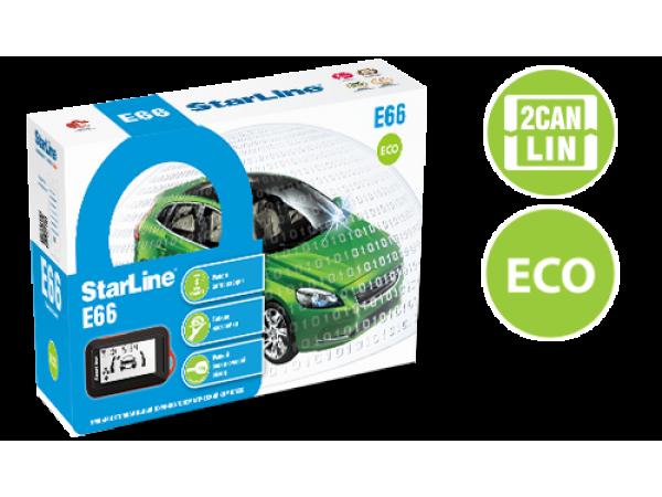 StarLine E66 eco 2can+2lin