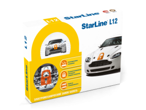 Электромеханический замок капота StarLine L12