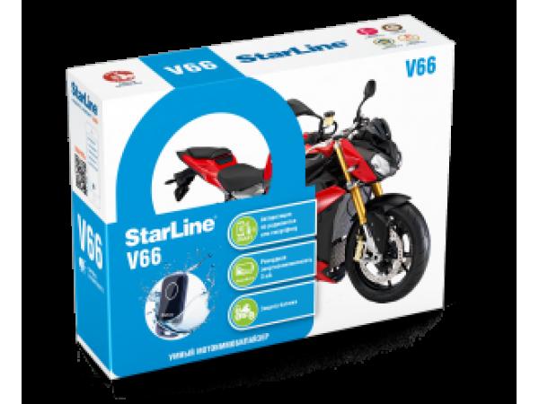 Мотосигнализация StarLine Moto V66