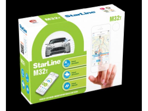 Starline M32 Can+Lin T (автозапуск с телефона)